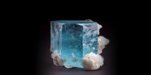 Gem Aquamarine Crystal