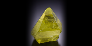 Beautiful Gem Crystal of Brazilianite