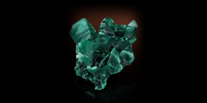 Malachite Crystals replacing Azurite